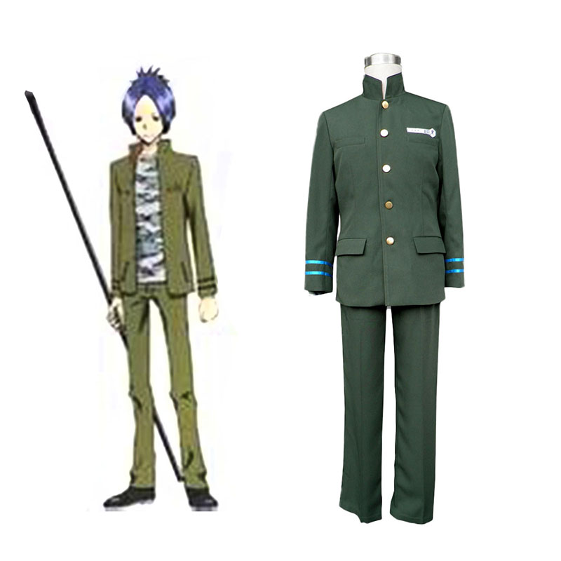 Hitman Reborn Junior High School Male Uniforms 2 Cosplay Kostym Sverige