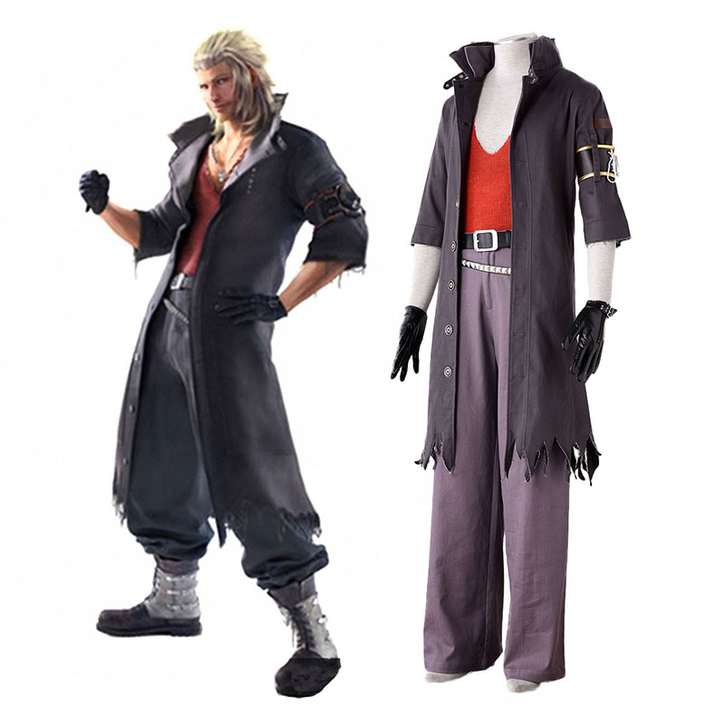 Final Fantasy 13-2 Snow Villiers 2 Cosplay Kostym Sverige
