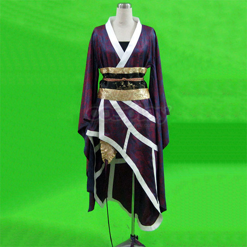 Samurai Warriors Nouhime 1 Cosplay Kostym Sverige