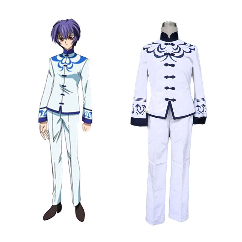Touka Gettan Male School Uniform Cosplay Kostym Sverige