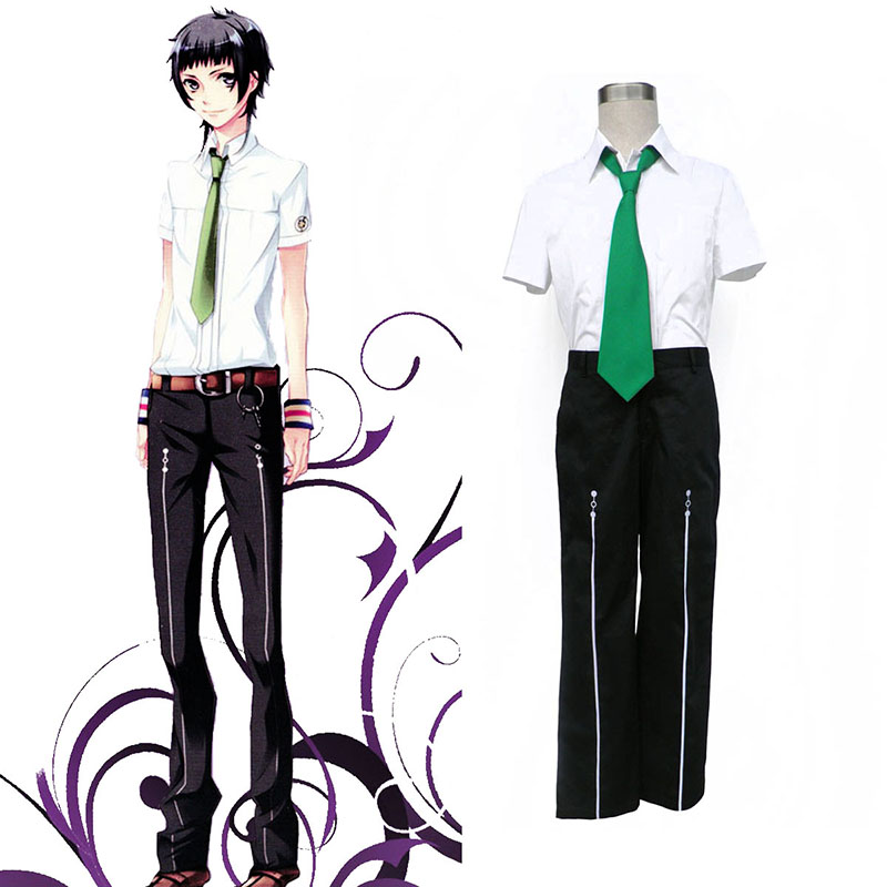 Starry Sky Male Sommar School Uniform 2 Cosplay Kostym Sverige