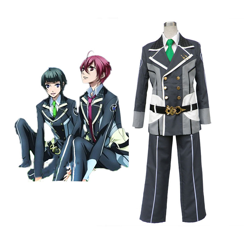 Starry Sky Male Vinter School Uniform 2 Cosplay Kostym Sverige