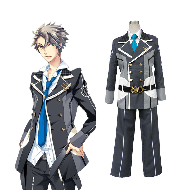 Starry Sky Male Vinter School Uniform 3 Cosplay Kostym Sverige