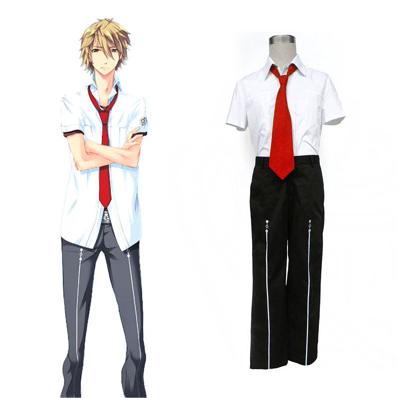 Starry Sky Male Sommar School Uniform 1 Cosplay Kostym Sverige