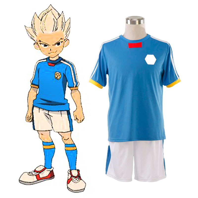 Inazuma Eleven Japan National Team Sommar 1 Cosplay Kostym Sverige