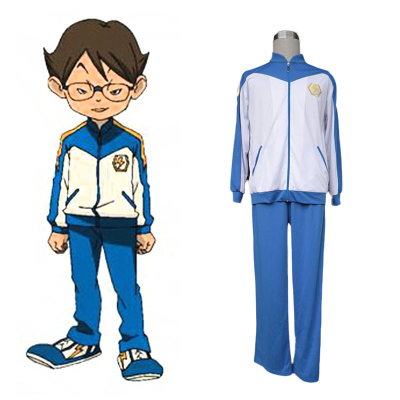 Inazuma Eleven Japan Team Vinter 1 Cosplay Kostym Sverige
