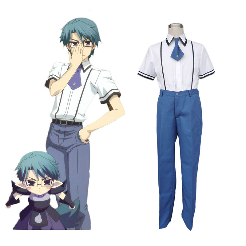 Baka and Test Male School Uniform Cosplay Kostym Sverige