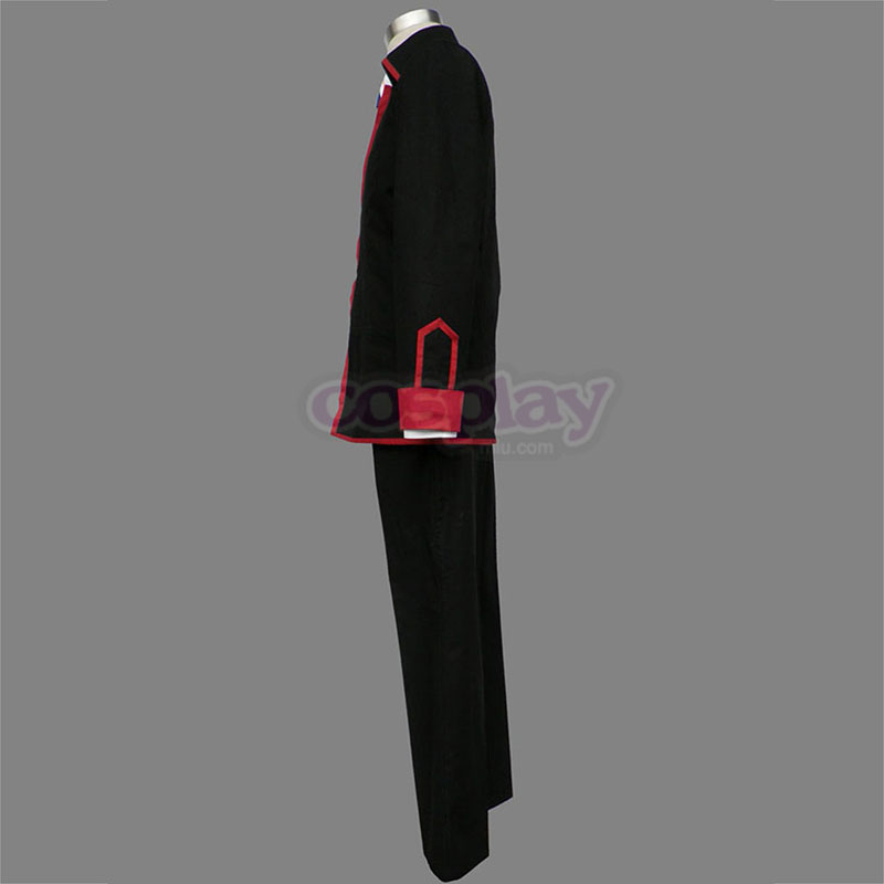 Little Busters Male School Uniform Cosplay Kostym Sverige