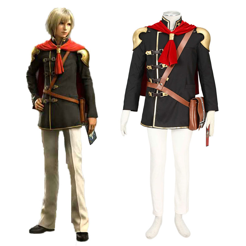 Final Fantasy Type-0 Ace 1 Cosplay Kostym Sverige