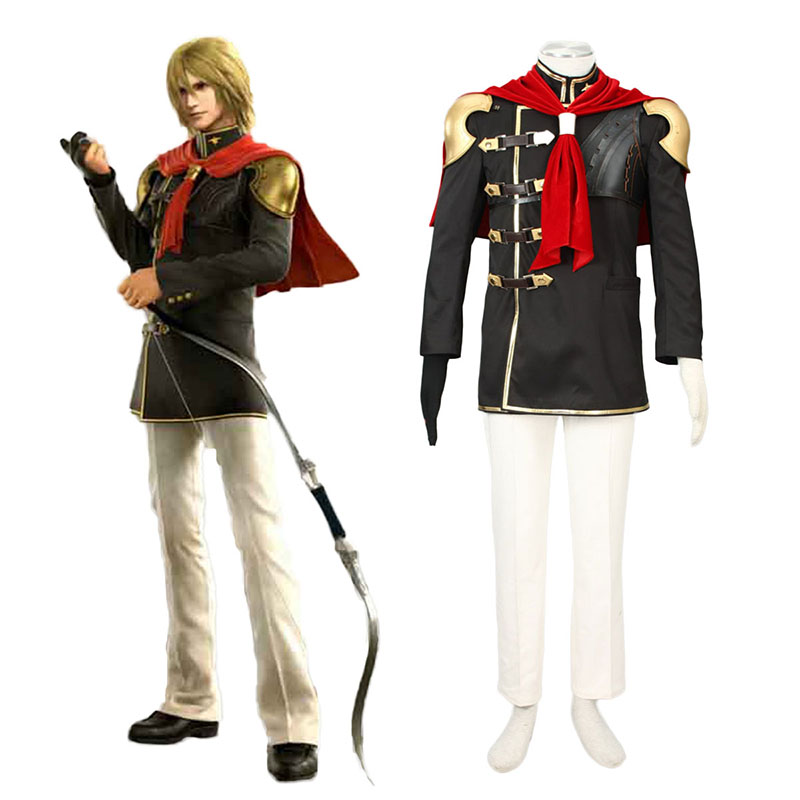 Final Fantasy Type-0 Trey 1 Cosplay Kostym Sverige