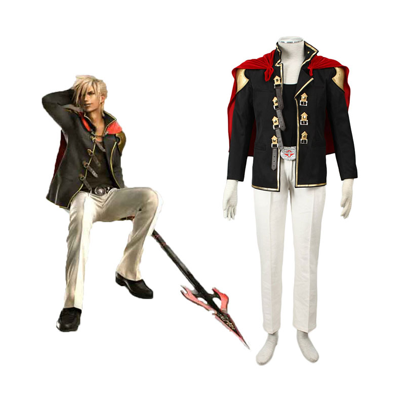 Final Fantasy Type-0 Nine 1 Cosplay Kostym Sverige