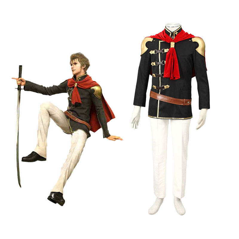 Final Fantasy Type-0 Jack 1 Cosplay Kostym Sverige