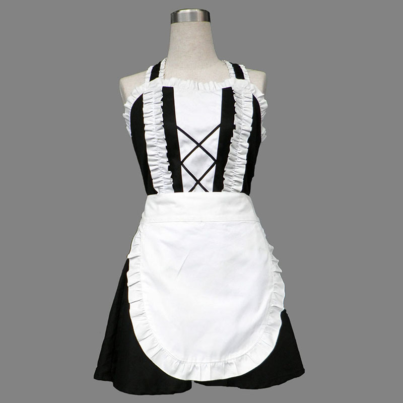 Maid Uniform 3 Devil Attraction Cosplay Kostym Sverige