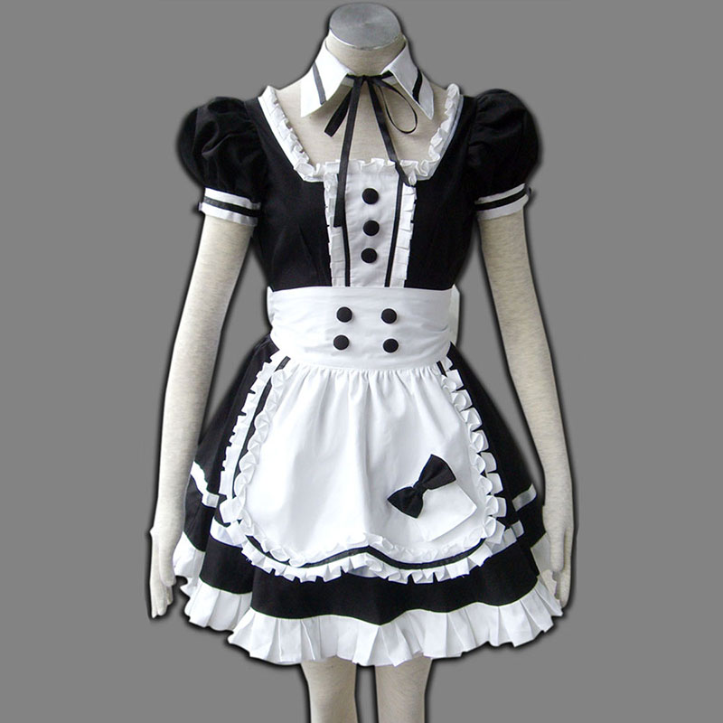 Maid Uniform 5 Princess Of Dark Cosplay Kostym Sverige