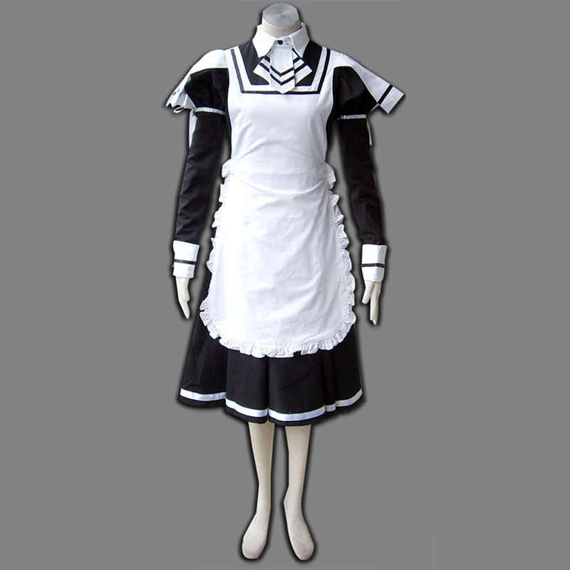 Maid Uniform 7 Deadly Weapon Cosplay Kostym Sverige