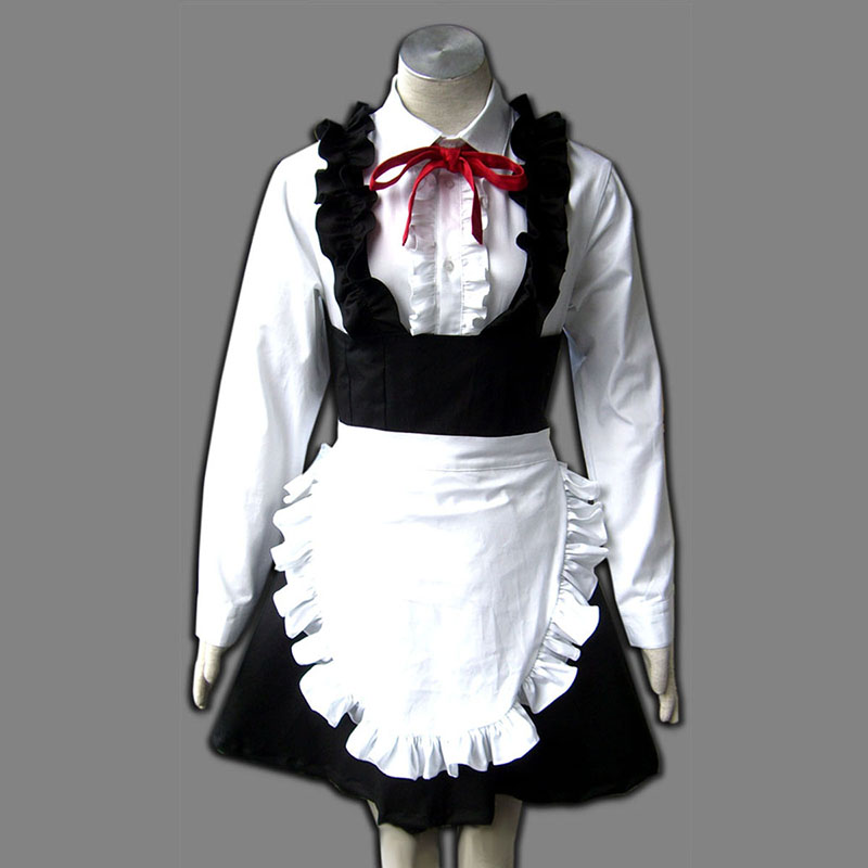 Maid Uniform 8 Pure Spirit Cosplay Kostym Sverige