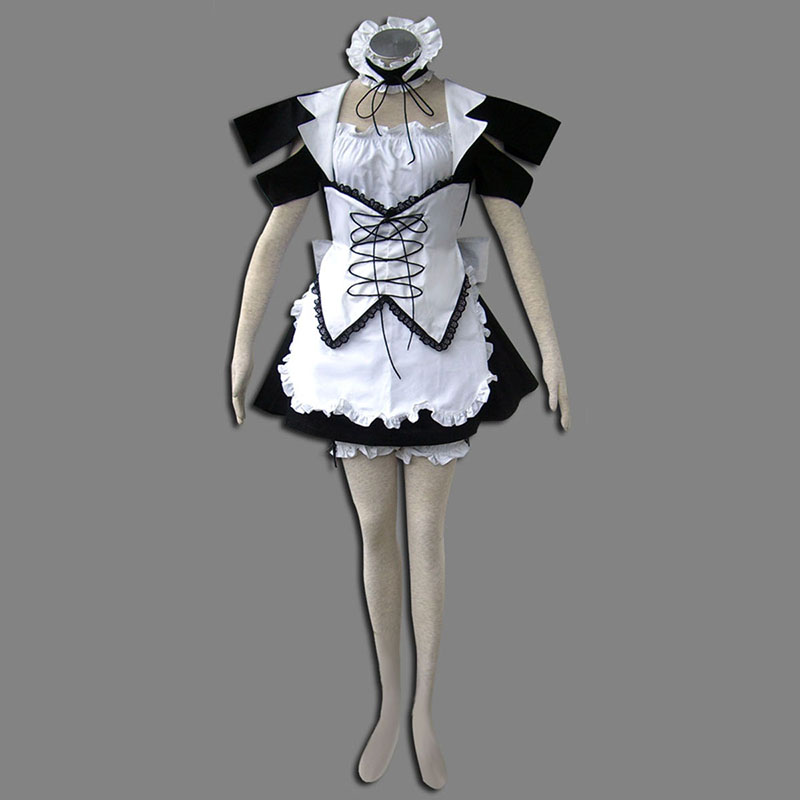 Maid Uniform 13 Wind Spirit Cosplay Kostym Sverige