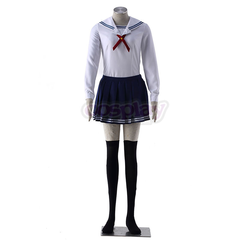 Saekano: How to Raise a Boring Girlfriend Toyogasaki Uniforms Cosplay Kostym Sverige