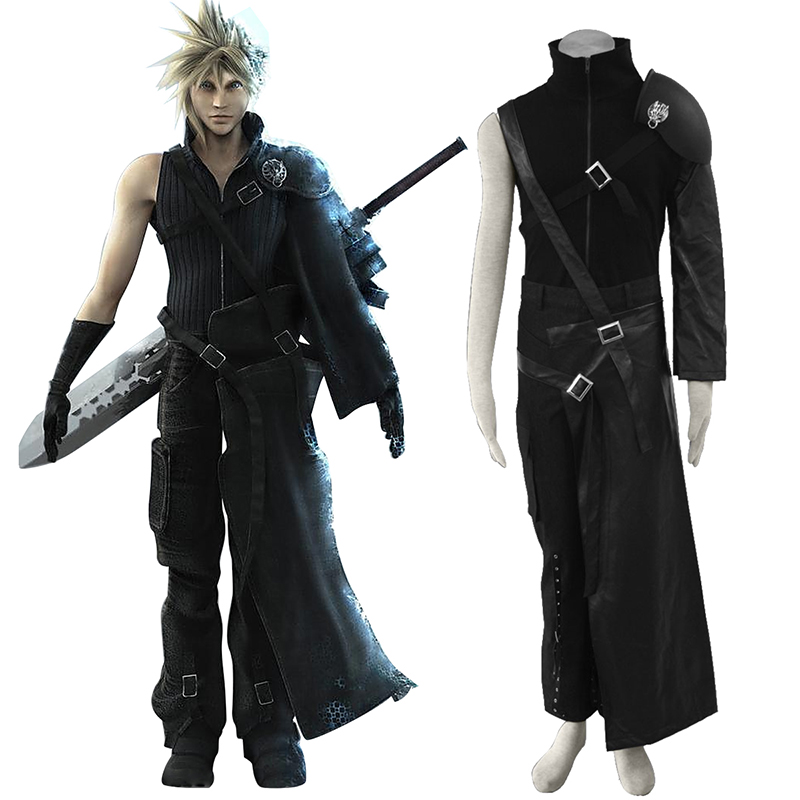 Final Fantasy VII Cloud Strife Cosplay Kostym Sverige
