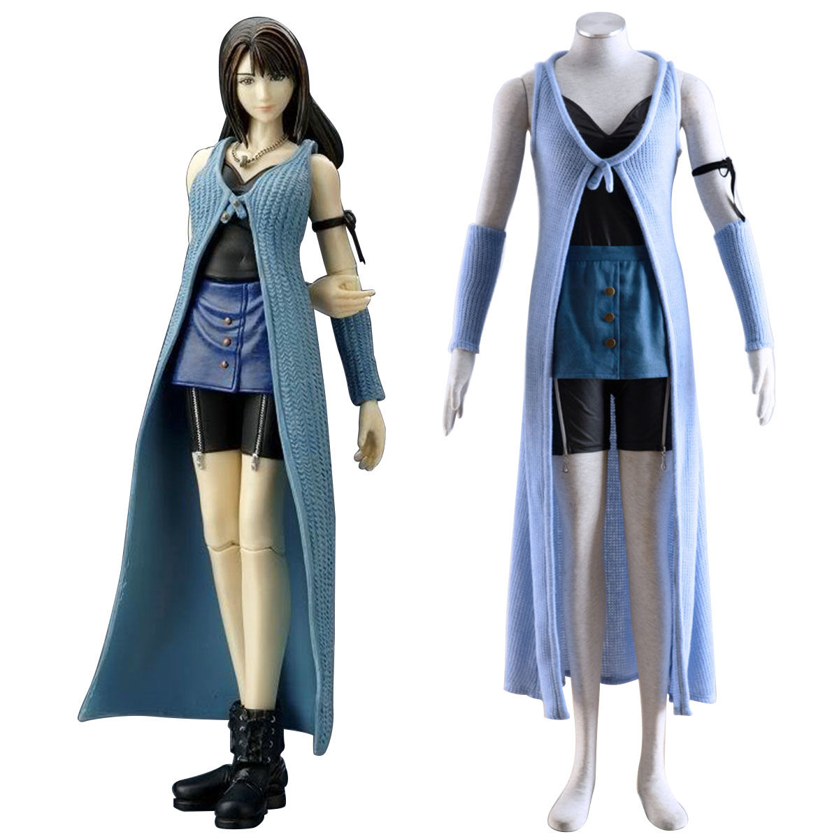 Final Fantasy VIII Rinoa Heartilly 1 Cosplay Kostym Sverige