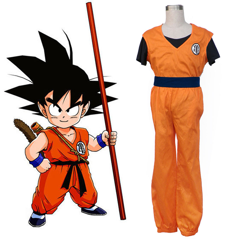 Dragon Ball Son Goku 1 Cosplay Kostym Sverige