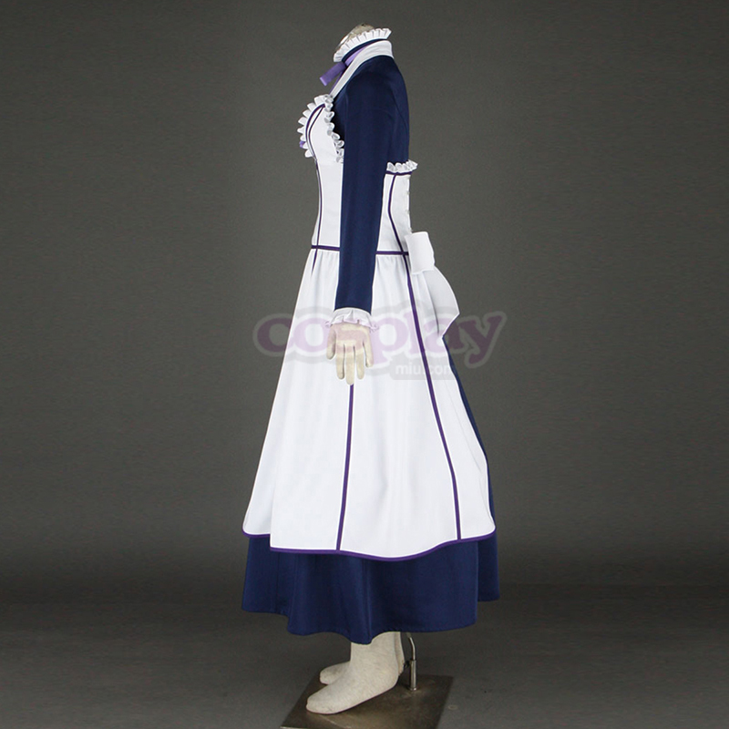 Black Butler Hannah Annafellows 1 Maid Cosplay Kostym Sverige