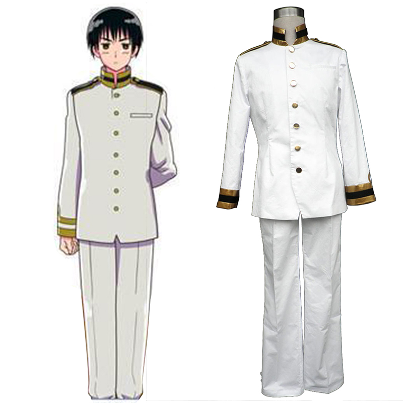 Axis Powers Hetalia Japan Honda Kiku 1 Cosplay Kostym Sverige