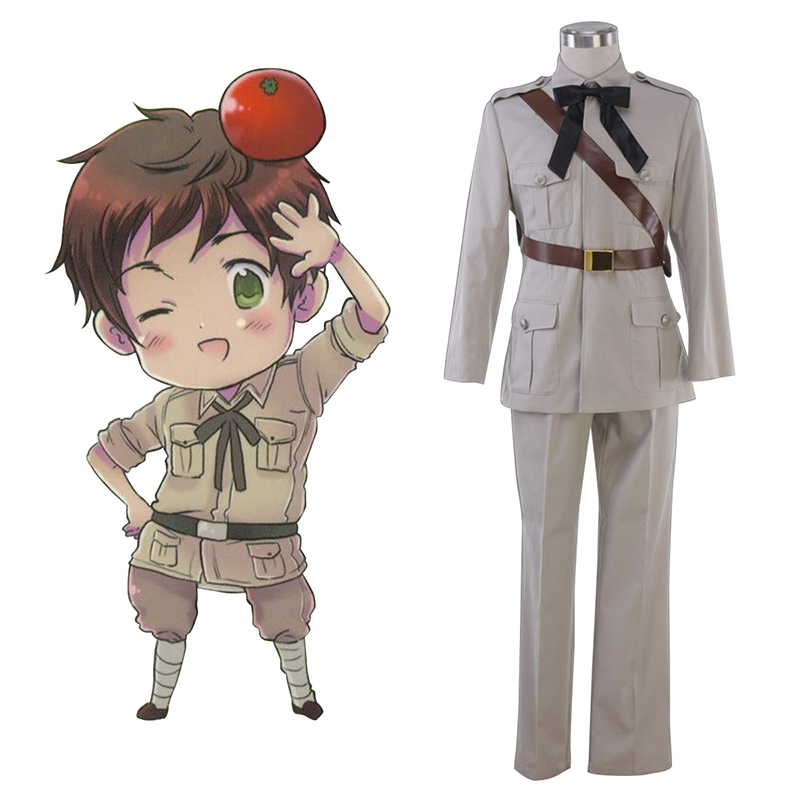 Axis Powers Hetalia Spain Antonio Fernandez Carriedo 1 Cosplay Kostym Sverige