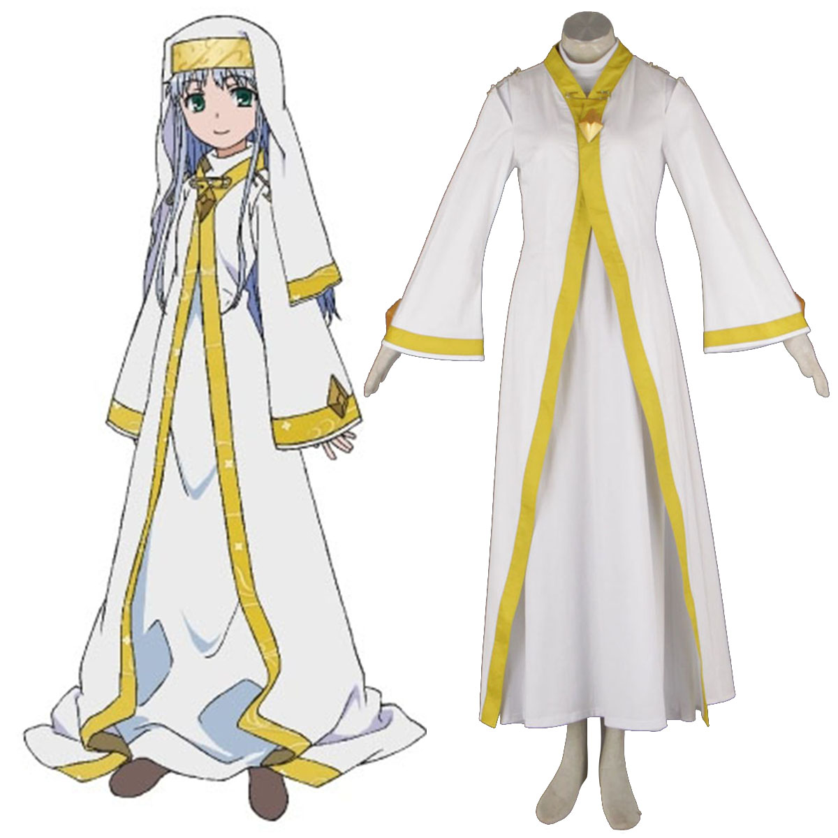 A Certain Magical Index Index-Librorum-Prohibitorum 1 Cosplay Kostym Sverige