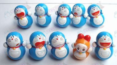 10 Doraemon tumlare (10 / set)