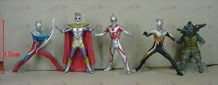 5 Generation 5 modeller Superman Ultraman Tillbehör Base (506)