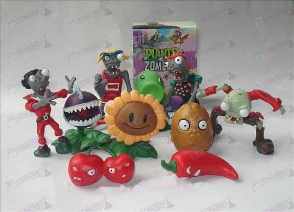 10 Plants vs Zombies Tillbehör Doll (box)
