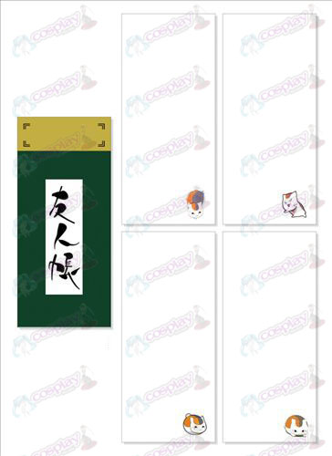 Natsume: s Book of Friends Tillbehör Skrapa Long Pad 024