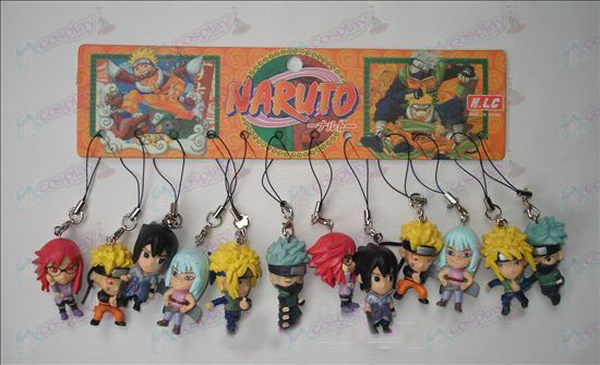 17 generationer 12 Naruto Doll Machine Rep