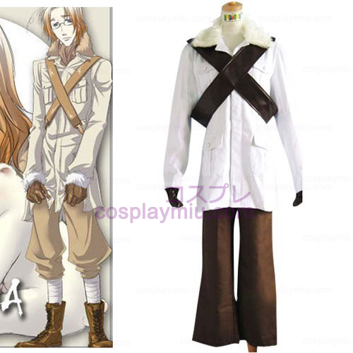 Hetalia Axis Powers Kanada Matthew Halloween Cosplay Dräkter