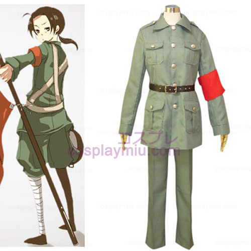 Axis Powers Kina Cosplay Kostym