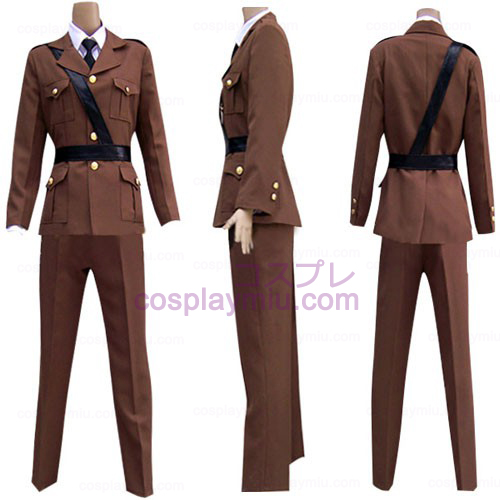 Hetalia Axis Powers Frankrike Cosplay Kostym