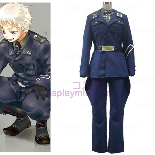 Axis Powers Preussen Gilbert Beilschmidt Cosplay Kostym