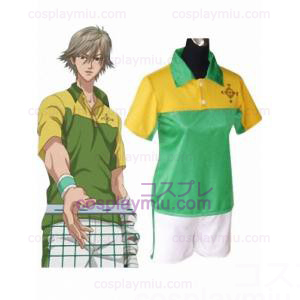 Den Prince Of Tennis Shitenhoji Middle School Summer Uniform Cosplay Kostym
