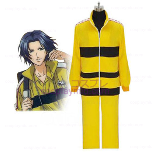 Prince Of Tennis Rikkai Yellow Enhetlig Cosplay