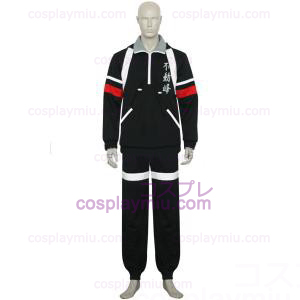 Den Prince Of Tennis Fudomine Black Cosplay Kostym