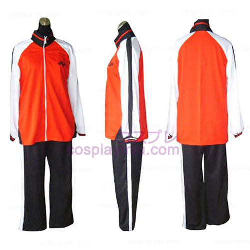 Prince Of Tennis Selections Team Winter Uniform Cosplay Kostym