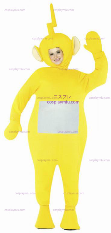 Teletubbies Laalaa Adult kostym