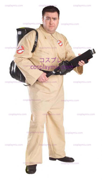 Ghostbuster Plus Size Adult kostym