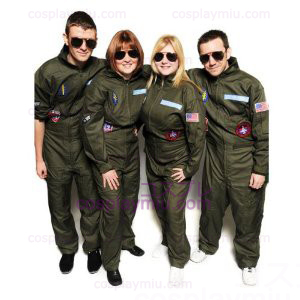 Top Gun Kostymer Party Flight Suit
