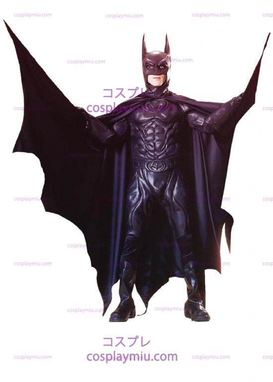 Batman Från 1997 Film Deluxe Adult kostym