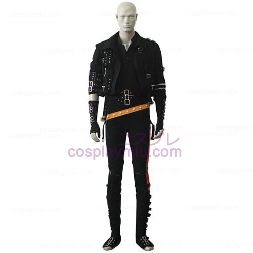 Michael Jackson Black Cosplay Kostym