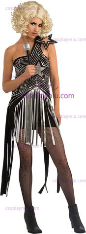 Lady Gaga Star Dress Vuxen