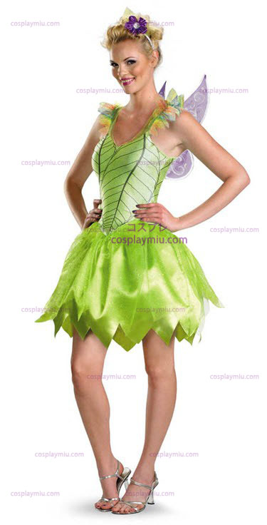 Tinkerbell Rainbow Deluxe Adult kostym