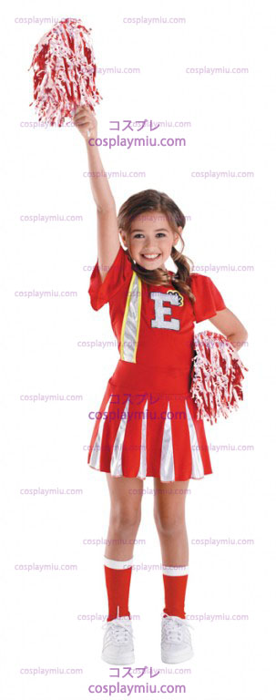 High School Musical Cheerleader Barn Kostym